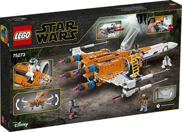 LEGO Star Wars 75273 Poe Damerons X-wing-Starfighter