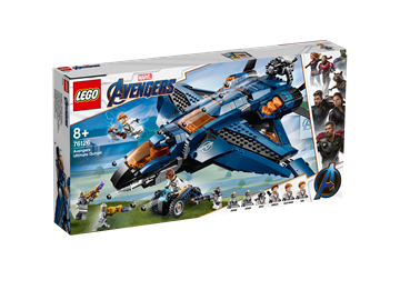 LEGO Super Heroes Ultimativer Avengers-Quinjet 76126