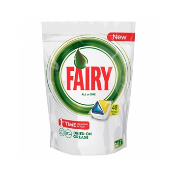 Fairy All In One Dishwasher Tabs Original 48'S