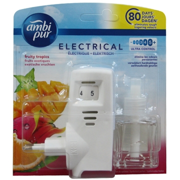 Ambipur Electric Diffuser + Refill 20ml. Tropical Fruit