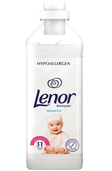Lenor Concentrated Softener 990ml Sensitive