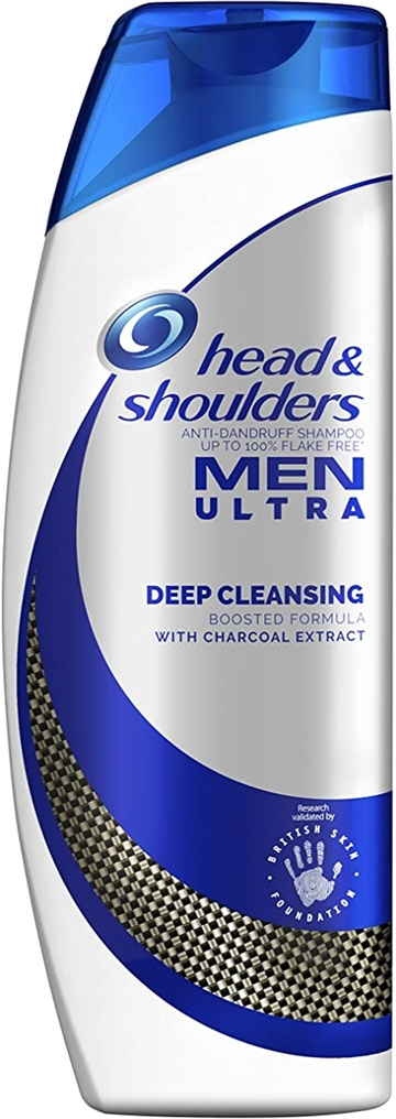 Head & Shoulders anti-dandruff shampoo 360ml Men ultra with coal