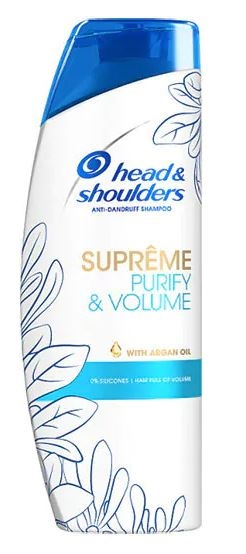 Head & Shoulders anti-dandruff shampoo 400ml Supreme purify & volume