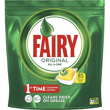 Fairy Dishwasher 85' Original All In One Lemon Tabs