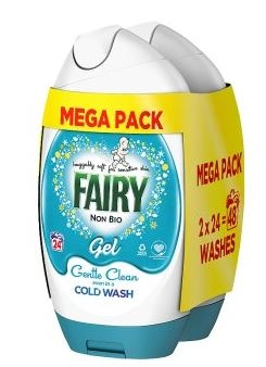 Fairy Gel Non Bio 48Wash 1.776L