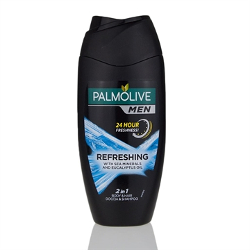Palmolive Gel 250ml Men Refreshing 3 In 1 Body, Face & Hair