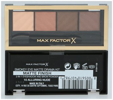 Max Factor Smokey Eye Matte Drama Kit #10 Alluring Nude 5 gr