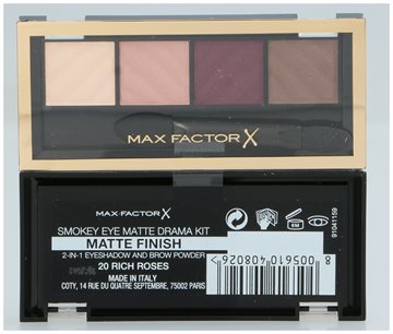Max Factor Smokey Eye Matte Drama Kit #20 Rich Roses 5 gr