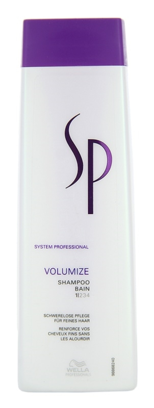 Wella Professionals SP Volumize Shampoo For Fine Hair And Hair Without Volume 250