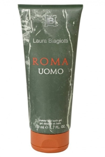Laura Biagiotti Roma Uomo Shower Gel Unboxed 200ml