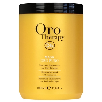 Fanola Oro Therapy Mask Argan Oil Gold 1L