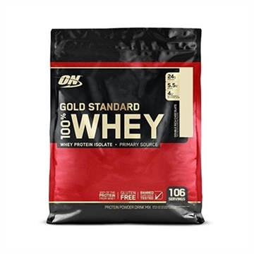 Optimum Nutrition 100 Whey Gold 3.18 kg Vanilla Ice Cream