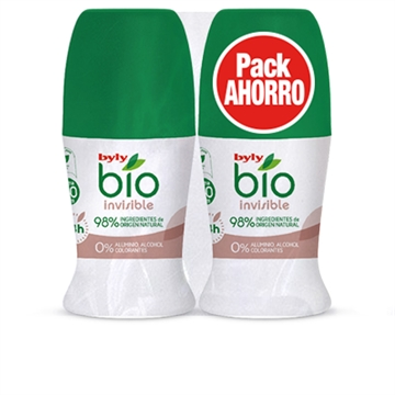 Byly Bio Natural 0% Invisible Deo Roll-On Lote 2'