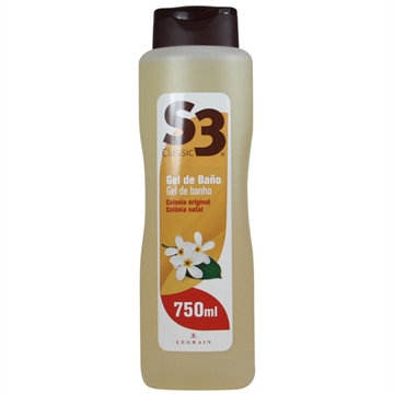 S3 Shower Gel  750ml Cologne Original