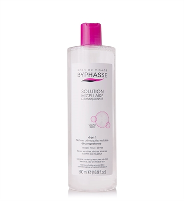 Byphasse Micellar Water 500 ml  Sensitive, Dry & Irritable Skin