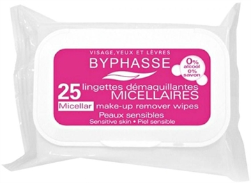 Byphasse Remover Cleansing Wipes 25 U  Micellar Sensitive Skin