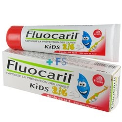 Fluocaril Toothpaste 50ml Kids 2-6 Years Milk Teeth