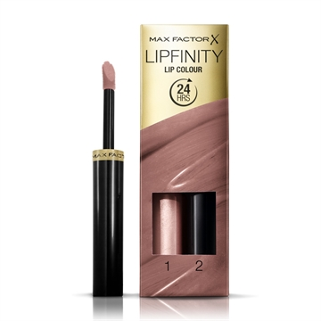 Max Factor Lipfinity Lip Colour 24 Hrs 190 Indulgent  - 1 Step 2,3ml/2 Step 1,9gr 4,2 ml