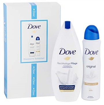 Dove Gift set Deo 150ml Original Shower 250ml Creme