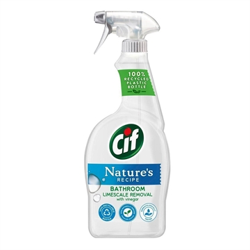 Cif Natures Recipe Spray Bathroom 750ml