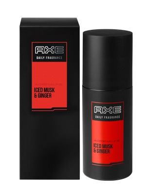 Axe Adrenaline Iced Musk And Ginger Body Spray For Men 100ml