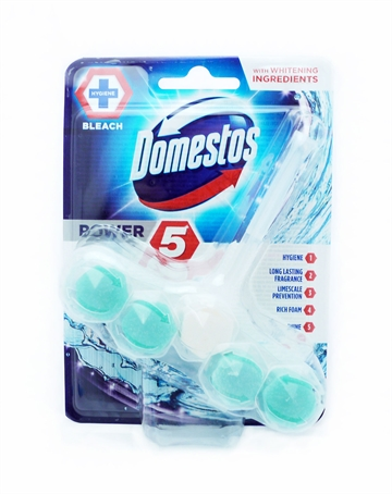 Domestos Power 5 Rimblock Chlorine 55G