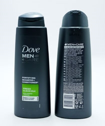 Dove Men Shampoo 2In1 Fresh Clean Fortifying 400ml