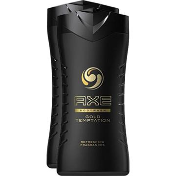 Axe Dusch 2x250ml Gold Temptation