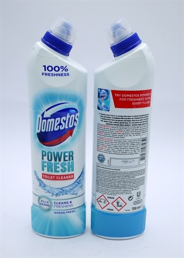 Domestos Bleach Power Fresh Ocean 700ml