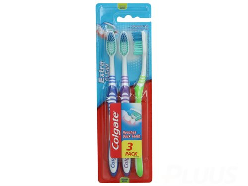 Colgate Toothbrush - Extra Clean Medium 3-pack