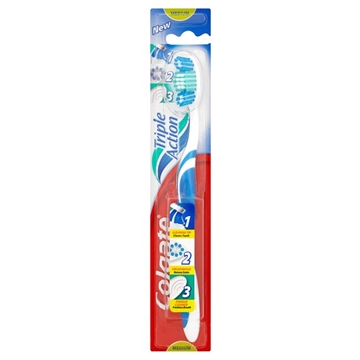 Colgate toothbrush medium triple action