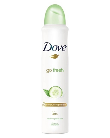 Dove Go Fresh Cucumber And Green Tea Anti-Perspirant Deodorant 250ml