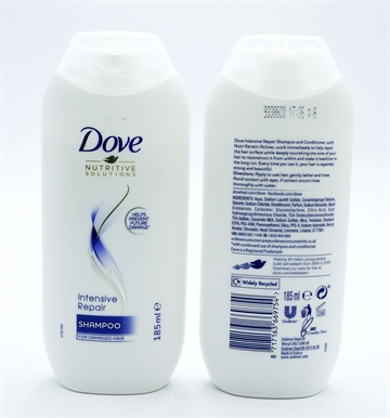 Dove Shampoo Intense Repair 185ml