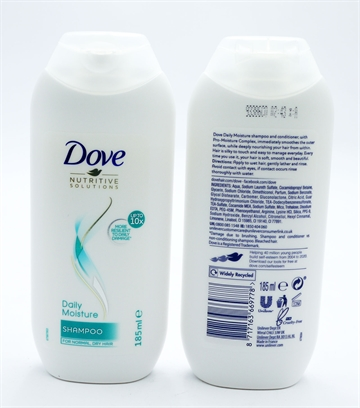 Dove Shampoo Daily Moisture 185ml