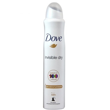Dove Deodorant Spray 200ml Invisible Dry