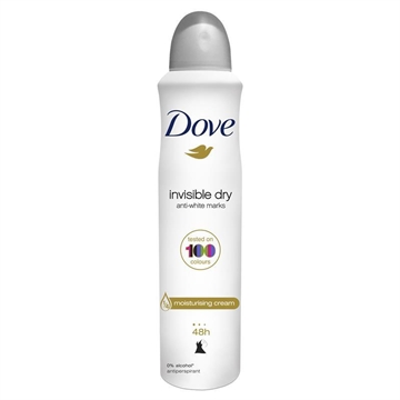 Dove Women Antiperspirant Aerosol Deodorant Invisible Dry 250ml