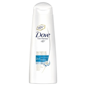 Dove Shampoo Daily 2In1 250ml