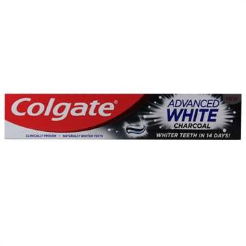 Colgate toothpaste 75 ml. Advanced white charcoal.