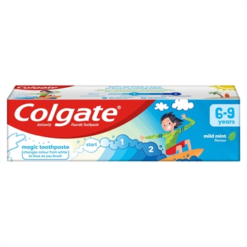 Colgate Toothpaste Kids Mild Mint 6+Yrs 75ml
