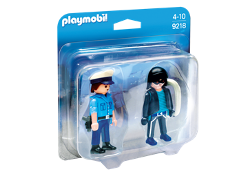 Playmobil Duo Pack Polizist und Langfinger 9218