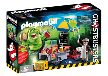 Playmobil Slimer Mit Hot Dog Stand 9222