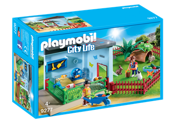 Playmobil Kleintierpension 9277