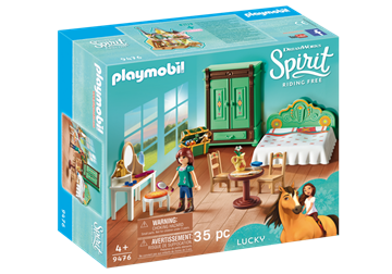 Playmobil Luckys Schlafzimmer 9476