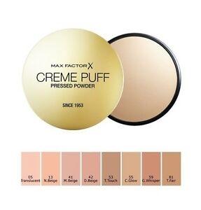 Max Factor Creme Puff Pressed Powder - 50 Natural