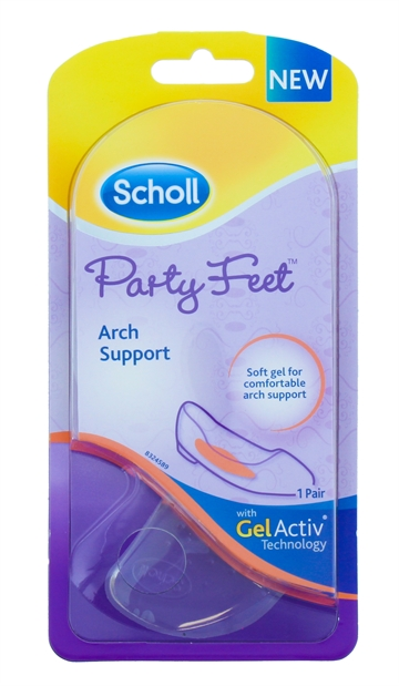 Scholl Party Feet Gel Activ Insoles Arch Support