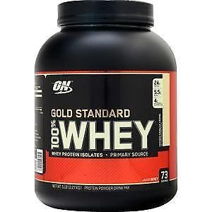 Optimum Nutrition 100 Whey Gold 2.27 kg french vanilla cream