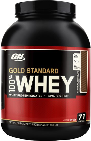 Optimum Nutrition 100 Whey Gold 2.27 kg Extreme Milk Chocolate