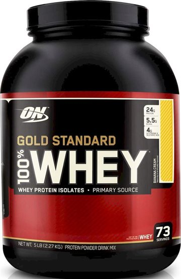Optimum Nutrition 100 Whey Gold 2.27 kg banana cream