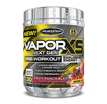 MuscleTech naNO Vapor X5 Next Gen - fruit punch - 30 servings