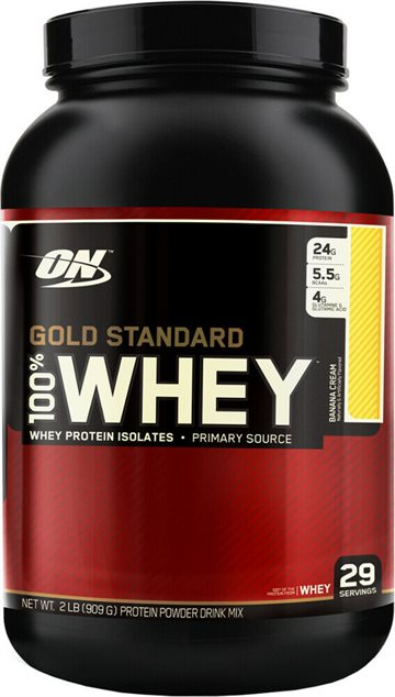 Optimum Nutrition 100 Whey Gold 908g banana